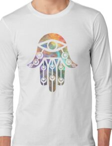 Galaxy Hamsa 3 Long Sleeve T-Shirt