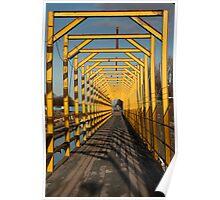 Yellow steel  Poster