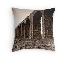 Ribble Head Viaduct Throw Pillow