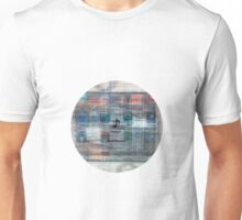 Damaged glitchy displays turned into art Unisex T-Shirt