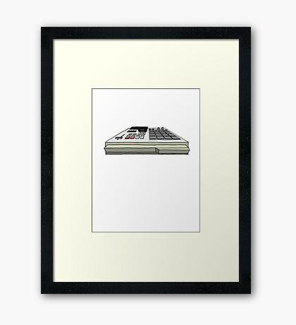 Akai MPC 2000xl Framed Print