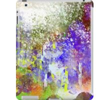 Decorative Abstract with White Glare iPad Case/Skin