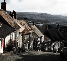 Down Gold Hill  by Polly x
