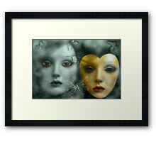 WhyDoILoveYou...Doll? (  Recited VideoClip by Rosa Cobos  in YT) Framed Print