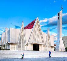 Iglesia Católica de Liberia - Costa Rica by Mark Tisdale