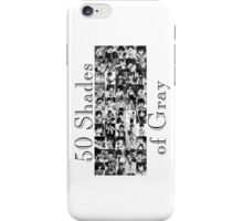 50 Shades of Gray Fullbuster - black txt iPhone Case/Skin