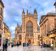The Abbey Church of Saint Peter and Saint Paul - Bath, England by Mark Tisdale