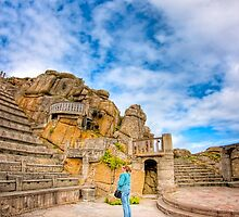 All The World's A Stage - Minack Theatre by Mark Tisdale