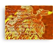 Phoenix Avatar Canvas Print