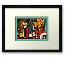 Eclectic Art Design Framed Print