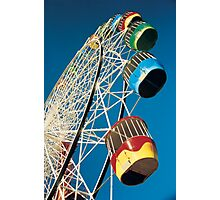 Luna Park Wheel Photographic Print