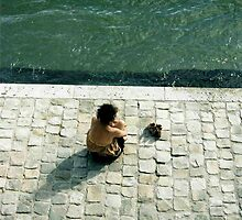 Woman By the Seine by Sheri Greenberg