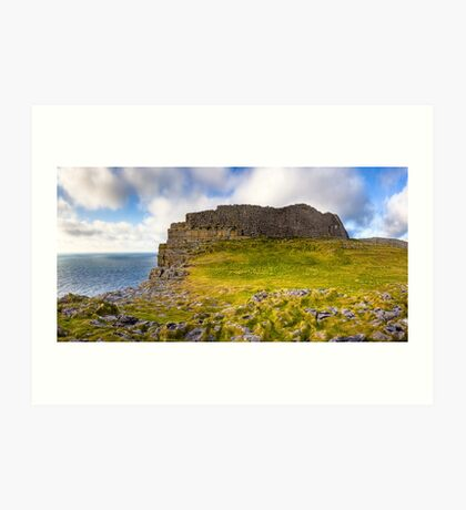 Dun Aengus Ring Fort - Ancient Irish Ruins Art Print
