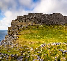 Dun Aengus Ring Fort - Ancient Irish Ruins by Mark Tisdale