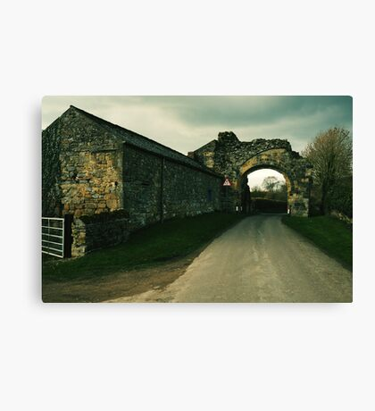 Abbey Arch Canvas Print