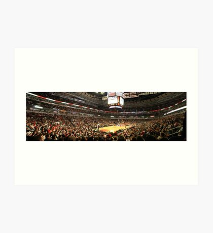 The United Center Art Print