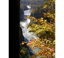 An Afternoon at Letchworth Photographic Print