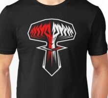 """oblivion (""""marching merrily to"""" - remix) Unisex T-Shirt"""