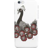 Alternative Peacock of Doom iPhone Case/Skin