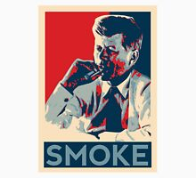 Smoke - Kennedy with cigar obama style poster graphic T-Shirt