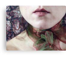 ~ christmas ribbon ~ Canvas Print