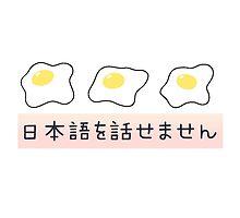 """I don't speak Japanese"" EGGS - oranges by Cactico"