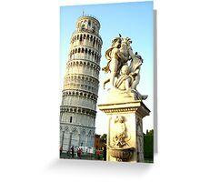 Pisa Lovers! Greeting Card