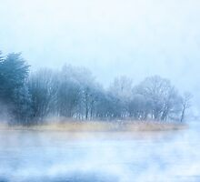 Foggy Memories of the Corrib in Galway by Mark Tisdale