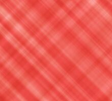 Red Diagonal Lines Abstract Pattern by TigerLynx