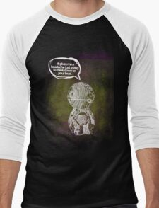 Marvin the paranoid android  Men's Baseball ¾ T-Shirt