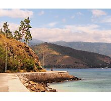 Road out of Dili Photographic Print