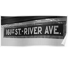 161st Street - River Ave Poster