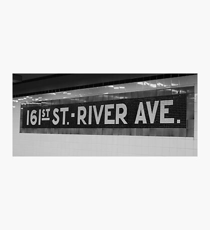 161st Street - River Ave Photographic Print