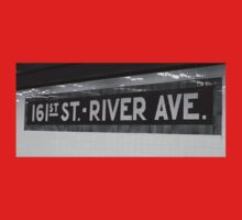 161st Street - River Ave Baby Tee