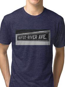 161st Street - River Ave Tri-blend T-Shirt