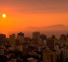 sunset by juan jose Gabaldon