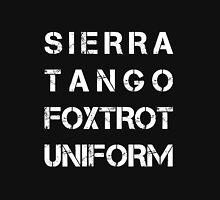 NATO Phonetic Alphabet - STFU - Sierra Tango Foxtrot Uniform T-Shirt