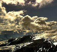 Day Ends on Breckenridge by Wayne King