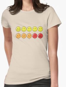 On a scale of 1 to 10 Womens Fitted T-Shirt
