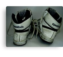 Reebok Sneakers Canvas Print