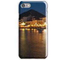 Pylos at night iPhone Case/Skin