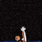 Calvin and Hobbes by rarcomeus