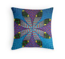 Sliding Banners Throw Pillow