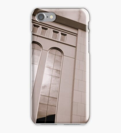 Yankee Stadium & Subway Tracks iPhone Case/Skin