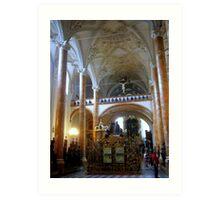 The Hofkirche (Imperial Church) Innsbruck, Tyrol - Austria Art Print