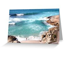Salmon Holes Greeting Card