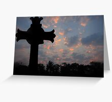 Sunrise over Lewinsville Greeting Card
