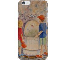 EAU POTABLE iPhone Case/Skin