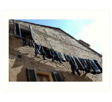 Italian Jeans Art Print