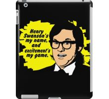Henry Swanson's my name iPad Case/Skin